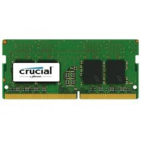 MEMORIA RAM SODIMM DDR4 4GB PC4-19200 2400MHZ CRUCIAL CL17 CT4G4SFS824A