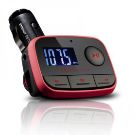 TRANSMISOR ENERGY  FM CAR TRANSMITTER F2 RACING RED 391233