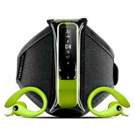REPRODUCTOR ENERGY MP3 ACTIVE NEON GREEN 4GB FM BRAZALETE
