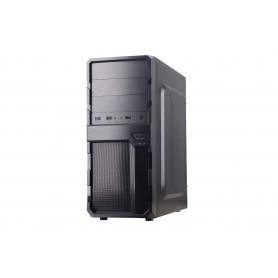 CAJA  ATX SEMITORRE COOLBOX F200 (SIN FUENTE) 2USB2.0-1USB3.0 BLACK  CAJCOOF200SF