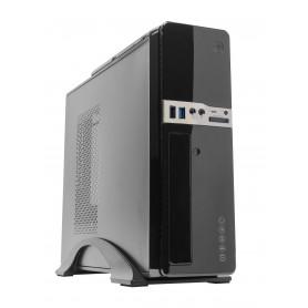 CAJA  MICRO-ATXMINI-ITX  SOBREMESA UNYKA 2009 USB3 (FUENTE 450W) NEGRA 51996