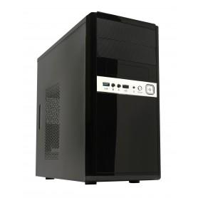 CAJA  MICRO-ATX SEMITORRE UNYKA 6011 U3.0 (FUENTE 500W) NEGRA 52008