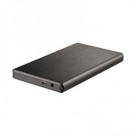 CARCASA DISCO DURO TOOQ 25P 95 MM SATA USB 3.0 NEGRA TQE-2522B