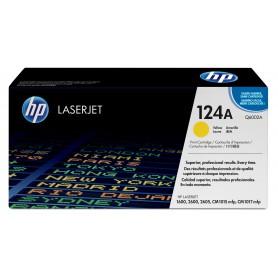 TONER HP 124A 16002600 ORI AMARILLO Q6002A