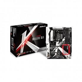 PLACA BASE AMD SAM4 ASROCK X370 KILLER SLI DDR4 PCIE SATA3 PCI ATX