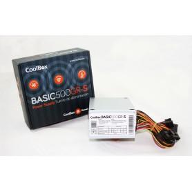 FUENTE DE ALIMENTACION SFX 500W COOLBOX BASIC 500GR-S COO-FA500SGR