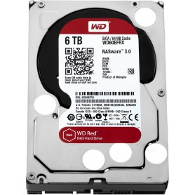 DISCO DURO INTERNO SATA III 6TB WD RED 64MB WD60EFRX