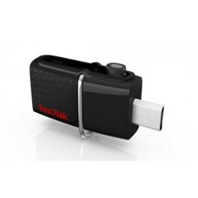 MEMORIA USB 3.0 32GB SANDISK DUAL MICRO ULTRA ANDROID NEGRO SDDD2-032G-GAM46