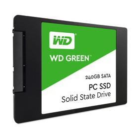 DISCO DURO SOLIDO 240GB WD 2.5 SATA III GREEN 3D WDS240G2G0A