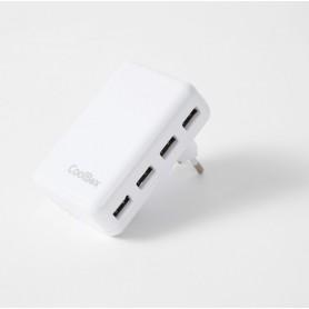 CARGADOR  USB COOLBOX PARED UX4 4USB (ULTRARAPIDO CON 1 SOLO)  COO-UX4WUC