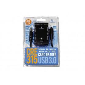 LECTOR TARJETA MEMORIA EXTERNO CRE-315 COOLBOX SDMICROSD USB3.0