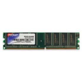 MEMORIA RAM DDR 1GB PC-3200 400MHZ CL3 PATRIOT PSD1G400