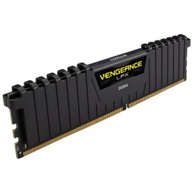 MEMORIA RAM KIT DDR4 8GB(2X4GB) PC4-19200 2400MHZ CORSAIR VENGEANCE NEGRA