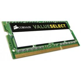 MEMORIA RAM SODIMM DDR3 4GB PC3-10600 1333MHZ CORSAIR CL9 CMSO4GX3M1C1333C9