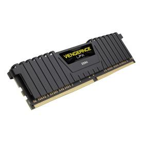MEMORIA RAM KIT DDR4 16GB(2X8GB) PC4-24000 3000MHZ CORSAIR VENGE NEGRA