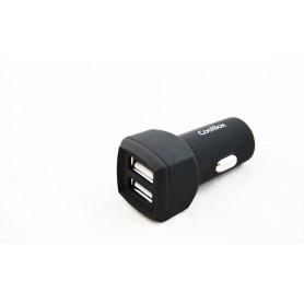 CARGADOR  USB COOLBOX COCHE CU231-C 2USB 3.1A COO-CU231-CUC