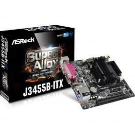 PLACA BASE ASROCK J3455B-ITX CPU INTEL J3455B VGA 2DRR3 5USB3.1 PCIE HDMI MINI-I