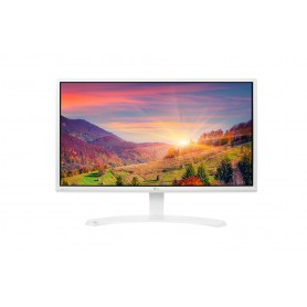 MONITOR 23.8 LED IPS LG 24MP58VQ-W DVI HDMI VGA 5MS HEADPHONE OUT BLANCO