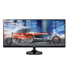 MONITOR 25 LED IPS LG 25UM58-P 21:9 ULTRAPANORAMICO 2HDMI 5MS NEGRO BRILLANTE