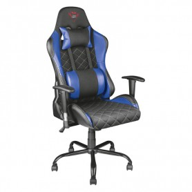 SILLA GAMING  TRUST GAMING GXT707R RESTO BLACK AND BLUE