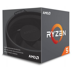 MICRO  AMD AM4 RYZEN 5 2600 3.4GHZ 16MB BOX YD2600BBAFBOX