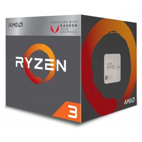 MICRO  AMD AM4 RYZEN 3 2200G 3.5GHZ 4MB BOX YD2200C5FBBOX