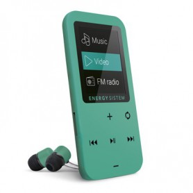 REPRODUCTOR ENERGY MP4 TOUCH 8GB FM BOTONES TACTILES MINT 426430
