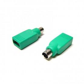 ADAPTADOR USB A PS2 TIPO AH-PS2M NANOCABLE 10.02.0003