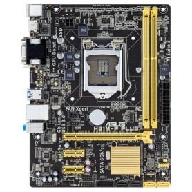 PLACA BASE S1150 ASUS H81M-P PLUS DDR3 PCIE SATA3 USB3 PCIE DVI HDMI M-ATX