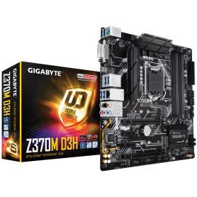 PLACA BASE S1151 GIGABYTE Z370M D3H RGB DDR4 PCIE SATA3 USB3.1 HDMI DVI-D M-ATX