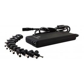 CARGADOR PORTATIL  90W COOLBOX AUTOMATIC PARED SLIM USB2.1A 12PUNTA SFALCOONB90US