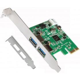 TARJETA PCI-EX 2P USB 3.0 L-LINK CON ADAP PERFIL BAJO LL-PCIEX-USB
