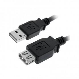 CABLE USB 2.0 TIPO AM-AH NEGRO 1.8 M NANOCABLE 10.01.0203-BK