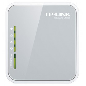 ROUTER TP-LINK WIFI  3G-4G 150MBPS  PORTAITL ANT INT TL-MR3020
