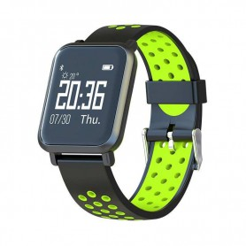 RELOJ SMARTWATCH LEOTEC HELSE GREEN BT IP68 IOS AND LESW10G