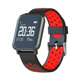 RELOJ SMARTWATCH LEOTEC HELSE RED BT IP68 IOS AND LESW10R