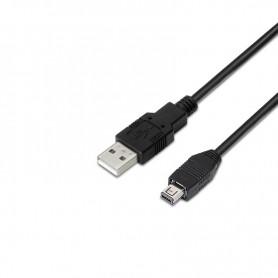 CABLE USB 2.0 TIPO AM-MINI USB 4PIN HIROSEM 1.8 M NANOCABLE 10.01.0602UC