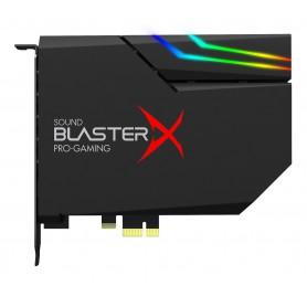 TARJETA DE SONIDO CREATIVE SOUND BLASTERX AE-5 NEGRA RGB AURORA PCIE