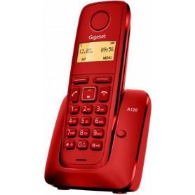 TELEFONO SOBREMESA GIGASET INALAMBRICO  A120 MONO ROJO