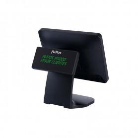 TPV COMPACTO AVPOS K5000BV 15 TACTIL J19004GBSSD64GB BLACK VISOR ALUM  CAPACI