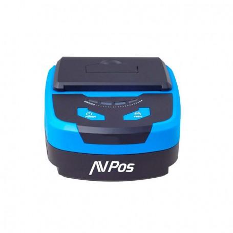 IMPRESORA TICKET AVPOS MP800 TERMICA PORTATIL BLUETOOTH NEGRA