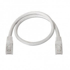 CABLE RED LATIGUILLO RJ45 CAT.6 UTP AWG24 BLANCO 3.0 M NANOCABLE 10.20.0403-W