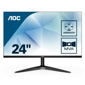 MONITOR 23.5 LED AOC 24B1H 1920X1080 FULL HD (1080P) VGA HDMI SLIM FEX NEGRO