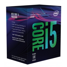 PROCESADOR INTEL CORE I5 8600 3.1GHZ S1151 9MB IN BOX
