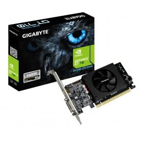 VGA  PCI-EX NVIDIA  GIGABYTE GT710 2GB DDR5 HDMIDVI-D PERFIL BAJO