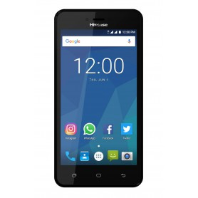 SMARTPHONE HISENSE T5 5 QC 1,25 1GB 8GB BT 8MP AND 7 NEGRO
