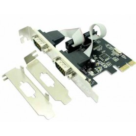 TARJETA PCI-EX APPROX 2P SERIE (INCLUYE LOW PROFILE) APPPCIE2S