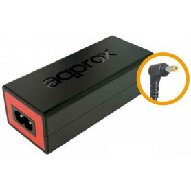 CARGADOR PORTATIL 65W APPROX PARA HP 4.8*1.7MM APPA05 NEGRO