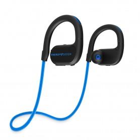 AURICULAR ENERGY EARPHONES BT RUNNING 2 NEON LED BLUE 448326