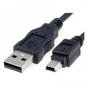 CABLE USB 2.0 TIPO AM-MINI USB 5PINM 1.0 M NANOCABLE 10.01.0401